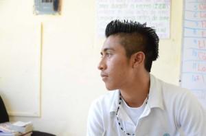 Alfredo, ein Maya-Übersetzer