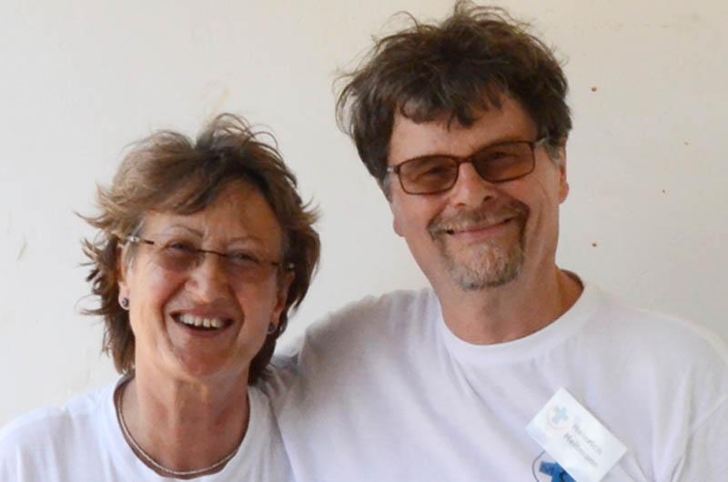 Ingrid und Heinrich Heitmann Seit 2010 gemeinsam bei den Einsätzen dabei: Heinrich und Ingrid Heitmann, Fotograf und Übersetzerin.