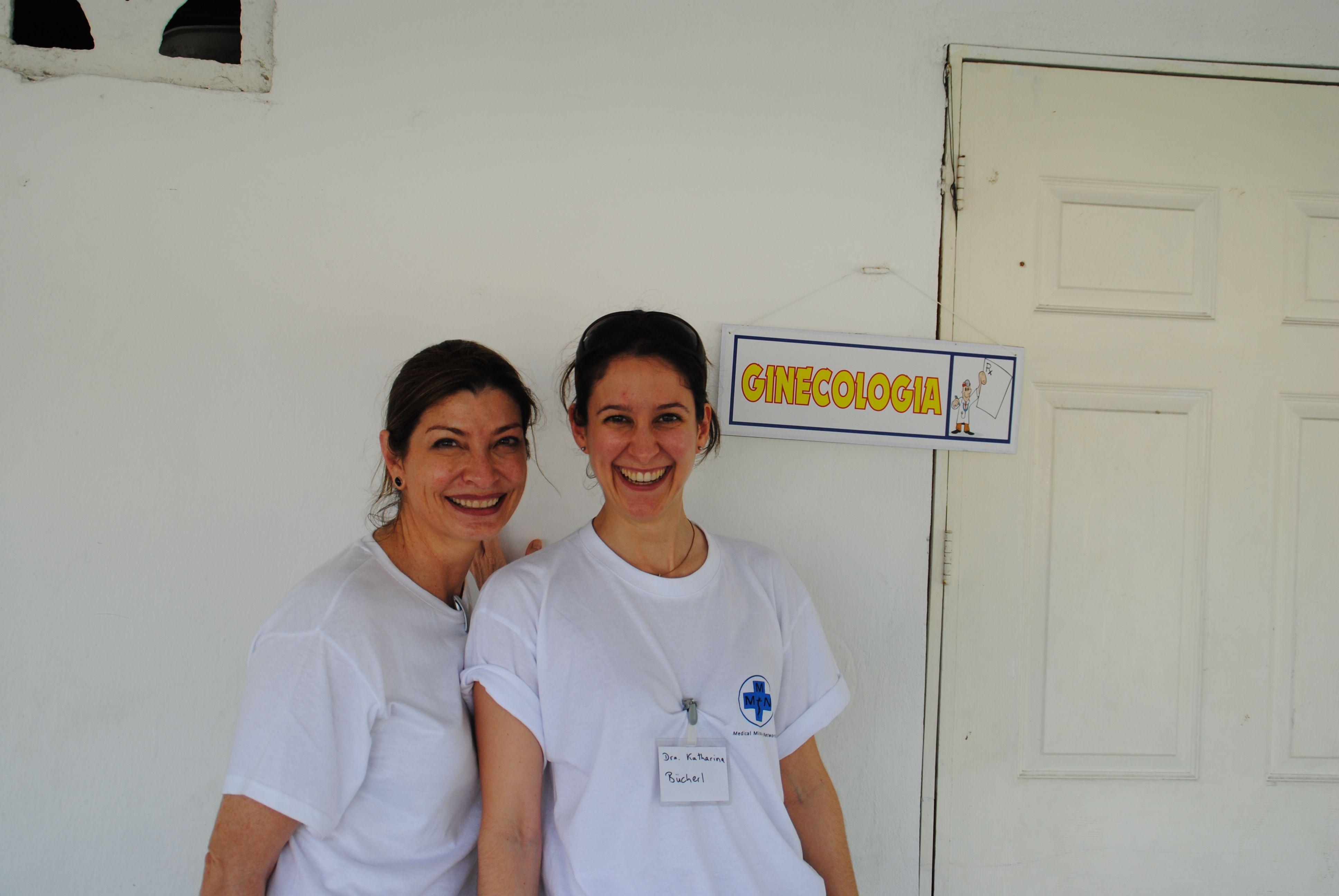 Katharina mit ihrer Übersetzerin Adriana Leal
