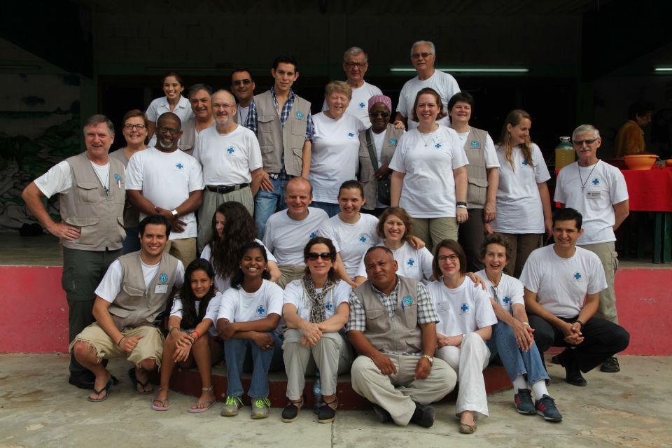 Das Team von Medical Mission Network hat in den letzten zwei Wochen rund 2500 Patienten behandelt. Eine so grosse Aufgabe schafft man nur gemeinsam. Viele der Teilnehmer kannten einander vorher nicht, und nun sind sie Freunde.