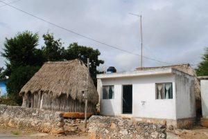 Haeuser in Sacalaca