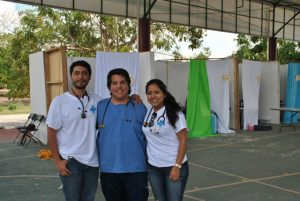 Mario, Juan Pablo und Eunice