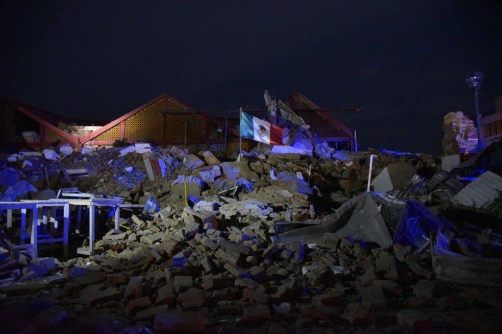 Juchitan nach dem verheerenden Erdbeben
