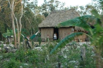 Maya-Hütte