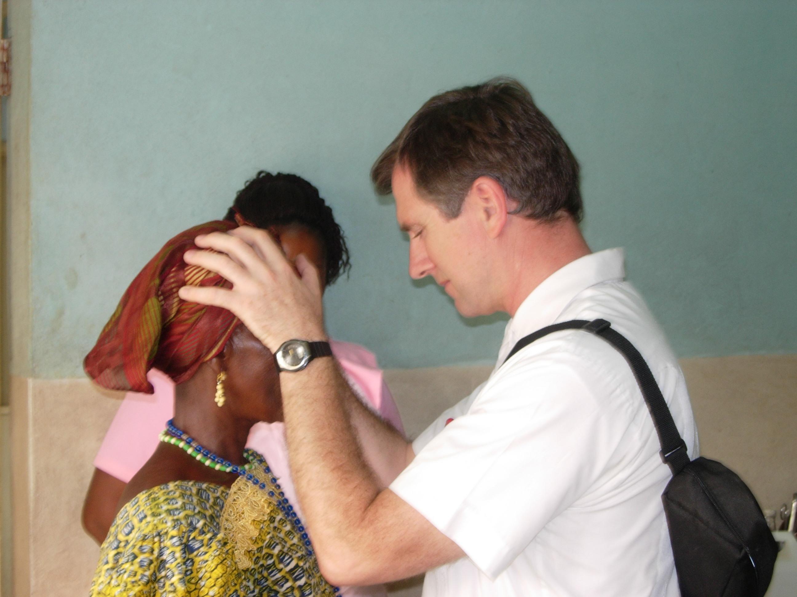 Einsatz in Ghana