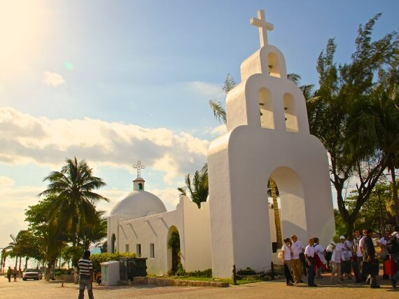 Kapelle vom Playa del Carmen